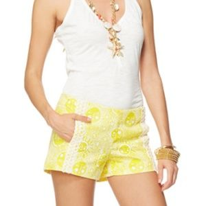 Lily Pulitzer Liza Shorts Kissed by the Sun 6